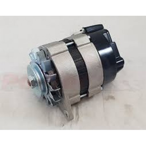 UK Made 17 18ACR Uprated 55 Amp Alternator With Fan Pulley LH Mount Powerlite RAC057