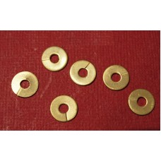 HT Ignition Lead Brass Washers for Copper Spark Plug  Lead Connections. (Set of 6)   214279A-SetA