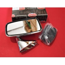 Stainless Steel Door Mirror Anti Dazzle Flat Glass Right Hand  TEX Branded    GAM215A