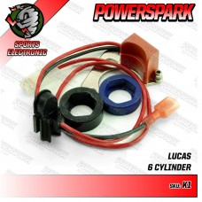 Powerspark Electronic Ignition Kit for Lucas 22D6, 25D6  6 Cylinder.   K1 & R4