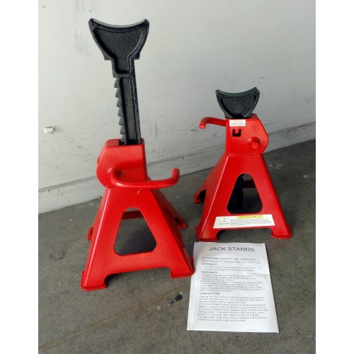 Jack Stands 6 Ton Axle Stands 6 Ton (Pair) - Two Stands    WT46001
