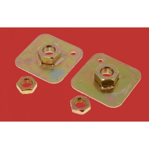 Securon Seat Belt Anchor Reinforcement Plate 7/16 UNF (Sold as a Pair) 621112  or   681/4