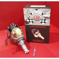 Classic Sport Ignition (CSI) Programmable Lucas 45d Distributor. A Series engines. With Vacuum advance.  C-27H7712