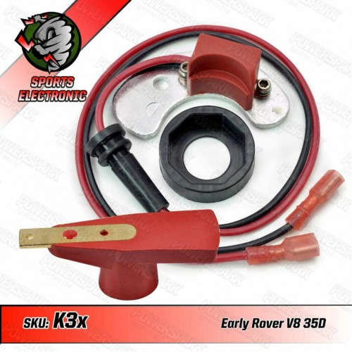 Powerspark Electronic Ignition Kit for Lucas 35D Distributor Early Rover V8 (Negative Earth)  K3x & R5-Powerspark
