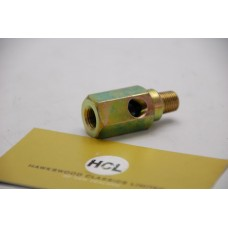 T-piece connector for oil pressure gauge switch