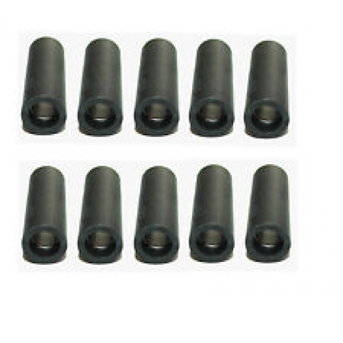Single bullet connectors 1 in 1 out. (Pack of 10). 104618_x_10.